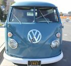 1963 Volkswagen Bus Vanagon DELUXE 1963 Split Window walk through Panel Bus All restored New Camper Interior