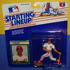 1989 BO DIAZ Cincinnati Reds Rookie -FREE s/h- sole Starting Lineup clear bubble