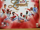 St. Louis Cardinals Autograph 7x Hall of Fame Jsa Loa Stan Musial 20 x 16 Photo