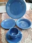 Fiestaware Sapphire 5 Piece Place Setting Fiesta Retired Very Limited Production