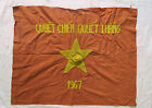 FLAG -  RESOLVE TO FIGHT - RESOLVE TO WIN 1967 -  VIET CONG - NLF