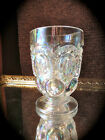 Vintage Iridescent Moon and Stars Footed Glass/Vase marked Weishar