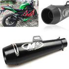 51mm Metal Exhaust Muffler Tail Pipe Slip on For Motorcycle Dirt Bike Scooter