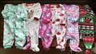 Baby Girl Clothes Sleepers Lot 0 3 Months EUC