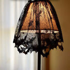 Halloween Spider Web Bat Black Lace Cover Decoration Lamp Shade Fireplace Scarf