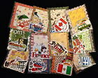 Travel Country Vacation 30 lot Embellishment cards die cut frame image scrapbook