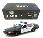 FORD CROWN VICTORIA LOS ANGELES POLICE LAPD 118 MODEL CAR BY DARON 60326