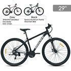 29Aluminum Frame Mens Mountain Bike 21 Speed Shimano Hybrid Bicycle Disc Brake
