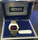 Beautiful Vintage Pulsar LED P2 Watch working with box and instructions.