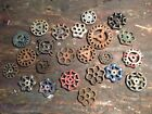NR! mixed lot water faucet valve Handle knob Cast Iron Industrial Steam Punk art