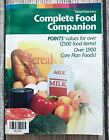 Weight Watchers POINTS Complete Food Companion Flex Core Plan Guide Book