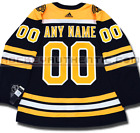 BOSTON BRUINS ANY NAME & NUMBER ADIDAS ADIZERO HOME JERSEY AUTHENTIC PRO