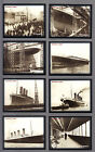 CIGARETTE TRADE CARDS.Rockwell.THE TITANIC.(2000).(Complete Set of 25)