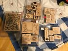 STAMPIN UP LOT OF 5 Stamp Sets Flowers Large Toile  Words and MORE