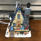 Used Lemax Edelweiss Cabin Christmas Village Lighted Cabin