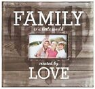 Photo Album Family is a Little World Created by Love Scrapbook 12x12 Acid Free