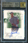 TIGER WOODS 2001 Upper Deck SP Authentic Auto RC Rookie Card BGS 9.5 10 #146 900