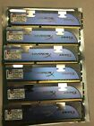 Lot 6 x 2GB Kingston DDR3 RAM HyperX PC KHX12800D3K3 12GB