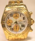 Men's Breitling K13358 Chronograph Cockpit 18k Yellow Gold Automatic Watch