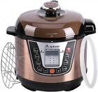 3Qt 8 in 1 Multi use Electric Pressure Cooker Slow Rice Cooker Steamer Rack NEW