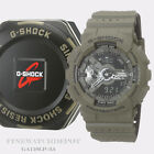 Authentic Casio G-Shock Perforated Band Series Green Men's Watch GA110LP-3A