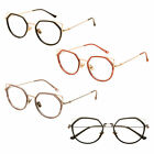 Cat Ear Irregular Glasses Metal Frame Eyeglasses Women Myopia Lenses Eyewear New
