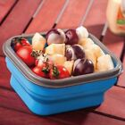 Color Bowl Food Oven Picnic Microwave Foldable Lunch Box Bento Box Silicone