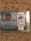 2017 Topps Dynasty Alex Rodriguez Yankees Game-Used Patch Auto Steiner Holo 1 1