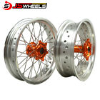 ktm exc sxf 125 250 450 supermoto 17*3.0/17*5.0 inch spoke wheels