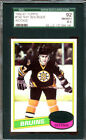 1980-81 Topps Hockey #140 Ray Bourque RC SGC 92 8.5 1271364-140