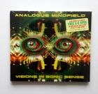 ANALOGUE MINDFIELD VISIONS IN SONIC SENSE MUSIC CD SNAPPER J RECORDS NEW  SEALED