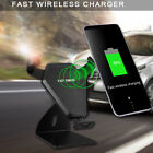 N5-3 Wireless Car Charger Magnetic Stand Black For lPhone X lPhone 8 / 8 Plus
