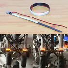 2pcs Mtorcycle Circle LED Strip Universal For 45mm-70mm Fork Turn Signal Light