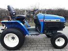 Iseki 2115 Compact Tractor 4 wheel drive alternative to Kubota or John Deere