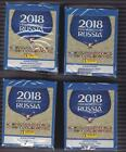 2018 Panini FIFA World Cup Russia stickers 50 pack box 4 box lot with 2 HARD