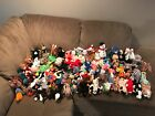 TY BEANIE BABIES mint collection of rare to everyday with tags, kept in suitcase