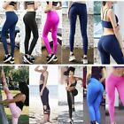Women Yoga Gym Stretch Trousers Leggings Fitness Jogging Running Sports Pant LSA