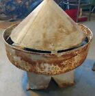 Reclaimed Vintage Antique Minture Milk Barn Cupola.  Shabby, Rusty Decor.