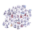 40Pcs set Alice Adventures Mixed Sticker Diary Scrapbooking Decal LaptopSticker