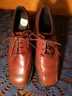 Rockport oxford Shoess DRESS CASUAL Classic  Brown Leather  men SIZE 10 M - T6