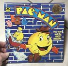 Vintage PAC-MAN And The Ghost Diggers Golden Book 1983 Bally Midway Game PacMan