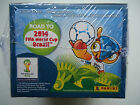 2014 Road to Brazil FIFA World Cup PANINI Stickers 50 packs box NEW