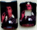 scarface black Motorola V3 V3M v3c SNAP ON HARD RAZR phone Faceplate Cover case