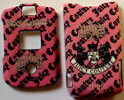 Motorola V3 V3c v3m RAZR phone RAZOR Faceplate Cover case hard snap on PINK