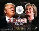 DECISION 2016 SERIES 2 UPDATE TRADING CARDS Hobby Box TRUMP Clinton RARE