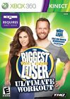THE BIGGEST LOSER ULTIMATE WORKOUT XBOX 360 KINECT W MANUAL FREE SHIP N