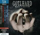 GOTTHARD Need To Believe + 2 JAPAN SHM CD Pink Cream 69 Krokus Asia Forsale