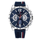 Tommy Hilfiger Decker Analog Casual Mens Multicolored Band 1791476