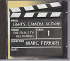 MARC FERRARI LIGHTS CAMERA ACTION CD FROM 2003 Z RECORDS MELODIC ROCK AOR OOP