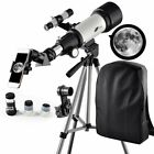 Telescope to View Moon and Planet Telescope 70mm Apeture 400mm AZ Mount